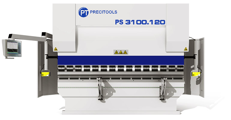 CNC press brake main view