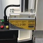 Press brake safety laser