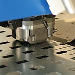 Punching with CNC punching machine