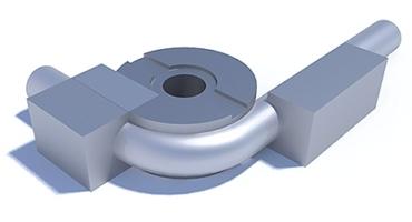 Draw tube bending technology